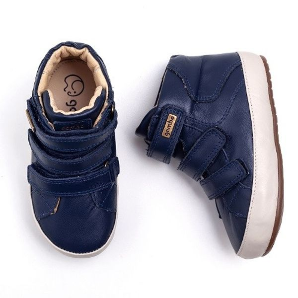 Bota-Gambo-Baby-Velcro-Azul-Marinho