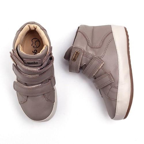 Bota-Gambo-Baby-Velcro-Taupe
