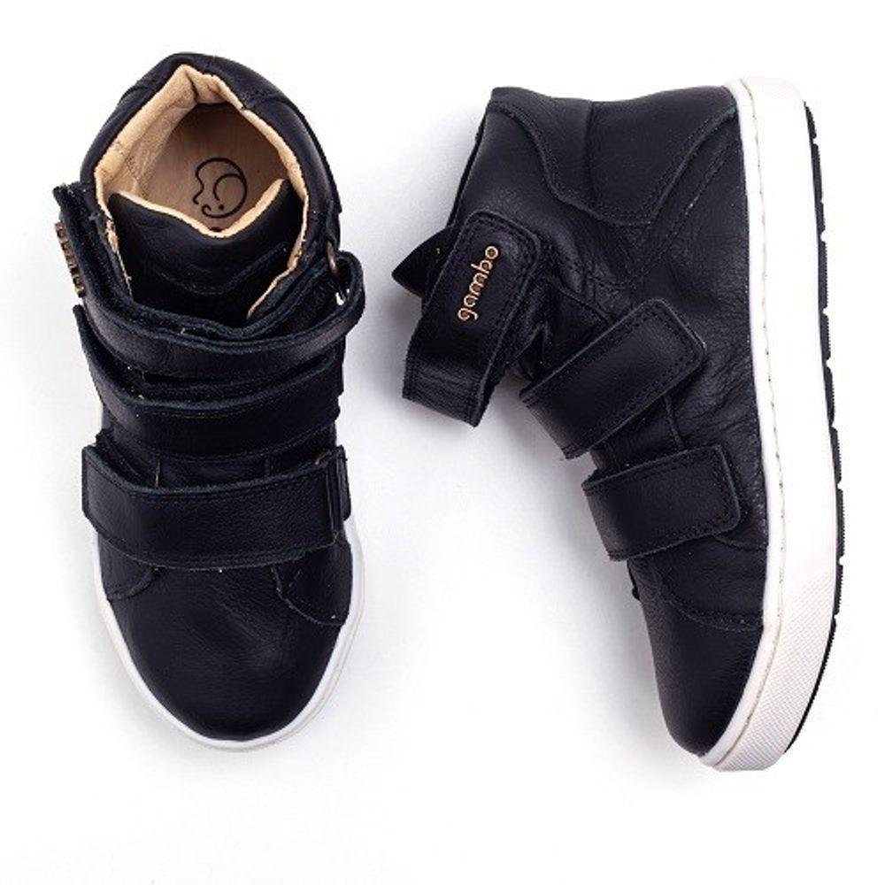 Bota-Gambo-Kids-3-Velcros-Marrakesh-Preto