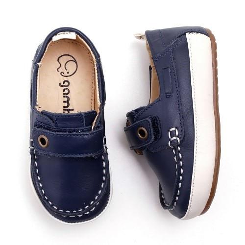 Mocassim-Gambo-Baby-Velcro-Azul-Marinho