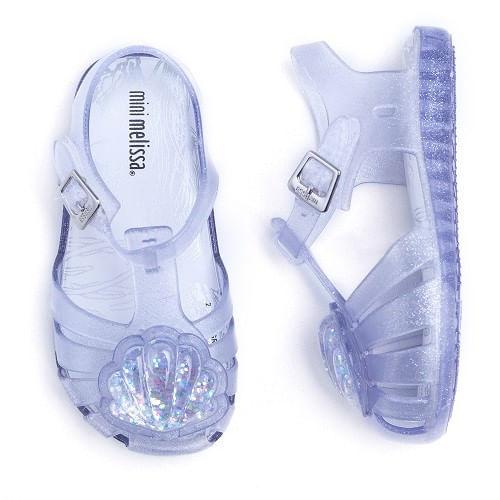 Sandalia-Mini-Melissa-Concha-Glitter-Prata