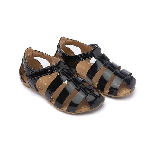 Sandalia-Tip-Toey-Joey-Little-Truss-Patent-Black