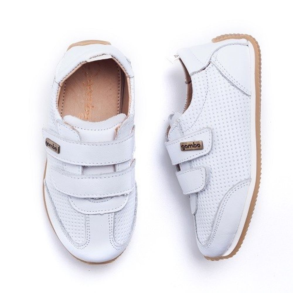 Tenis-Gambo-Baby-Jogging-Branco