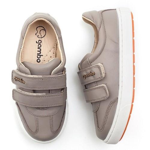 Tenis-Gambo-Baby-Kids-2-Velcros-Taupe--23-ao-30-