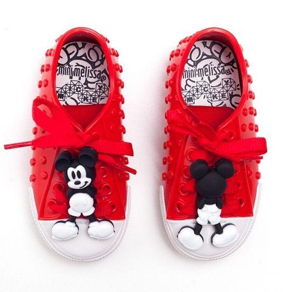 Tenis-Mini-Melissa-Polibolha---Disney-Vermelho