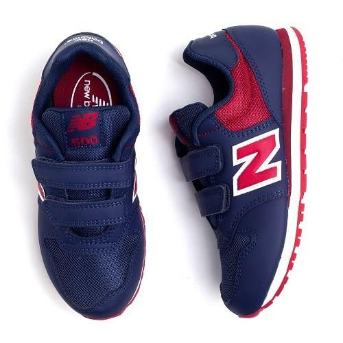 Tenis-New-Balance-500-Azul-Marinho-Vermelho--27-33-