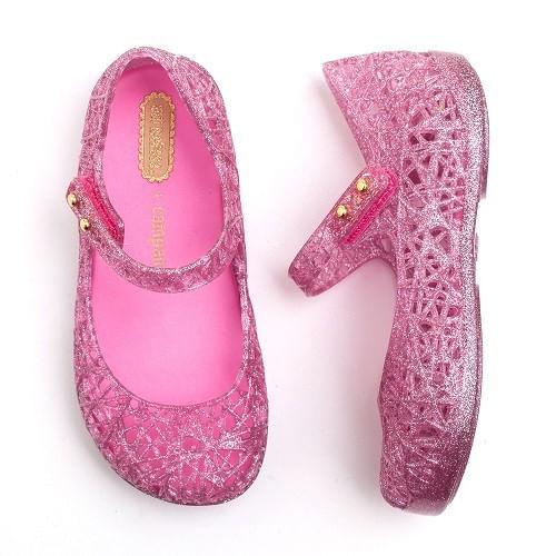 Sapatilha-Mini-Melissa-Campana-Rosa-Glitter