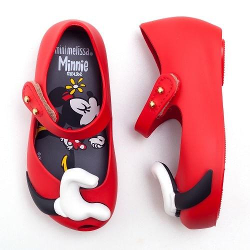 Sapatilha-Mini-Melissa-Ultragirl---Disney-Twins-Vermelho