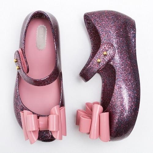 Sapatilha-Mini-Melissa-Ultragirl-Sweet-III-Rosa-Glitter