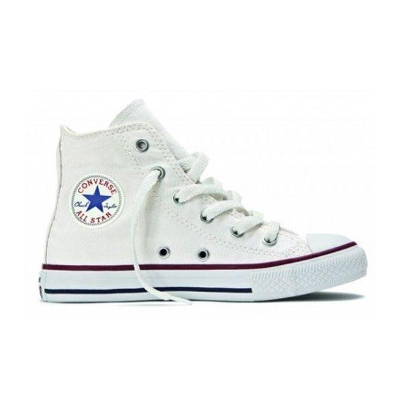 4701a8a2aff Tenis Infantil Converse All Star Cano Alto Branco (26 ao 32 ...