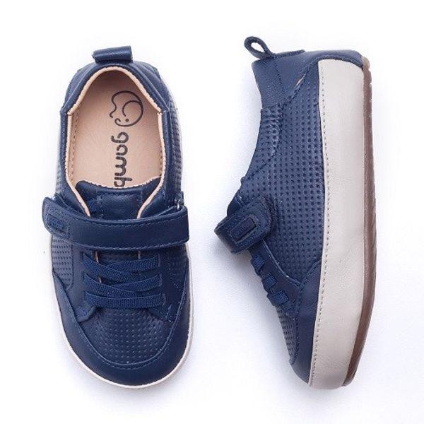 da8a8a867 Tênis Gambo Baby Azul Marinho Velcro - laranjeiras