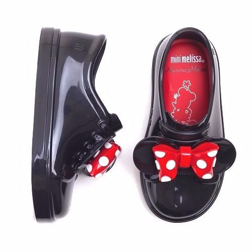 Tenis-Mini-Melissa-BE-Minnie-Preto