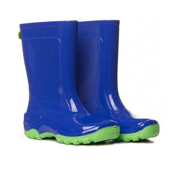 f4a8ea06009 Galocha Infantil KidSplash Azul Neon - laranjeiras