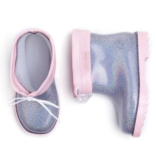 galocha-mini-melissa-rain-boot-gliter