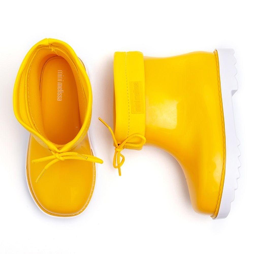galocha-mini-melissa-rain-boot-amarela