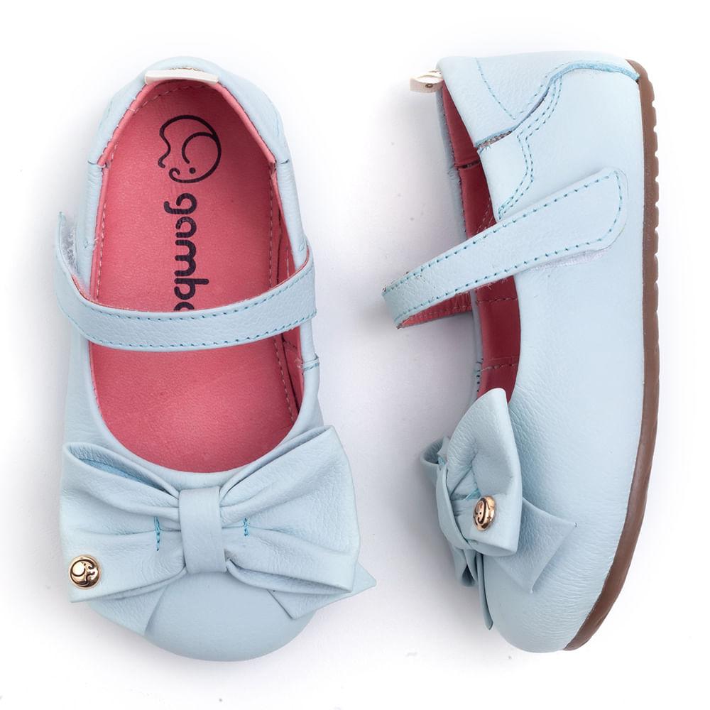 Sapatilha-Gambo-Baby-Hortencia-Azul-Bebe