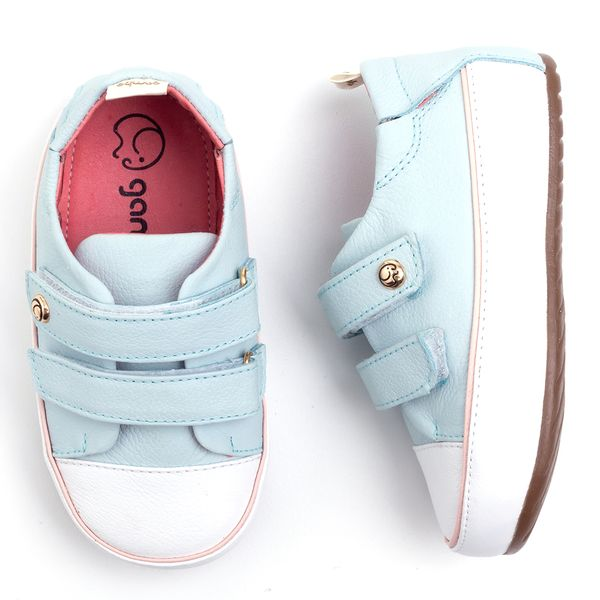 dbf6176f1 Tênis Gambo Baby Velcro Azul Bebê - laranjeiras