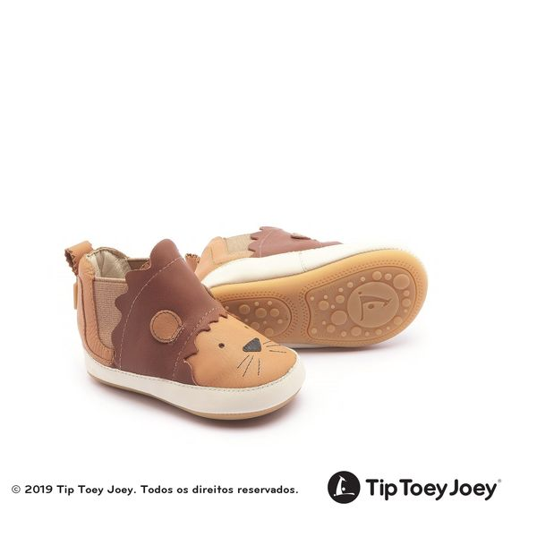 f1af47fc3 Bota Tip Toey Joey Liony Marrom/Amarelo - laranjeiras - mobile