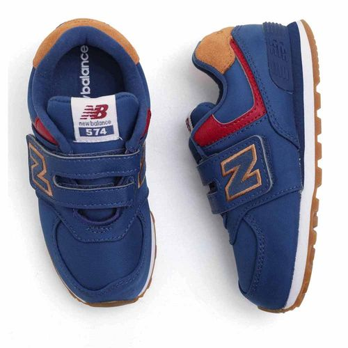 tenis-infantil-new-balance-574-azul-escuro-velcro