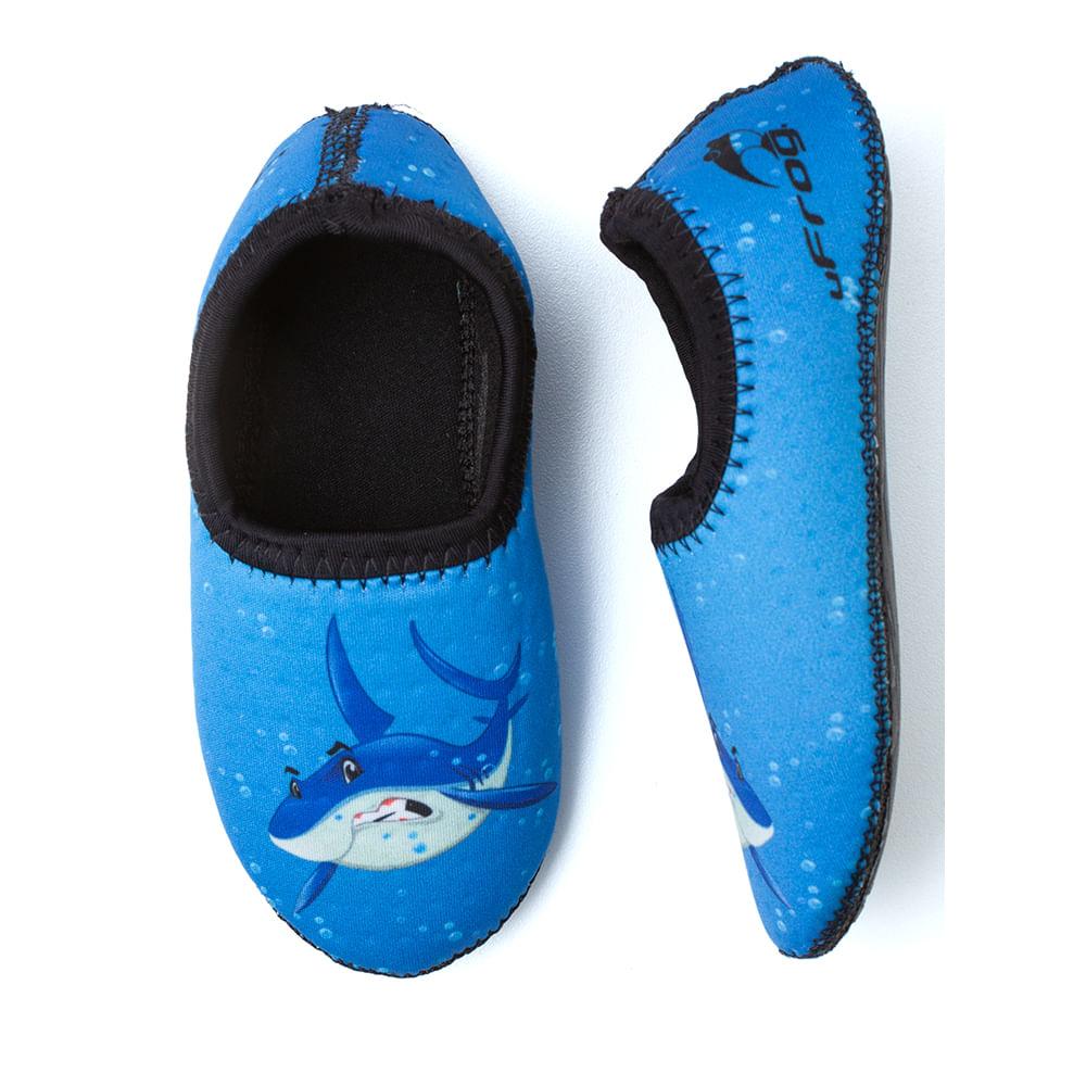 sapatilha-neoprene-aquatica-ufrog-tubarao