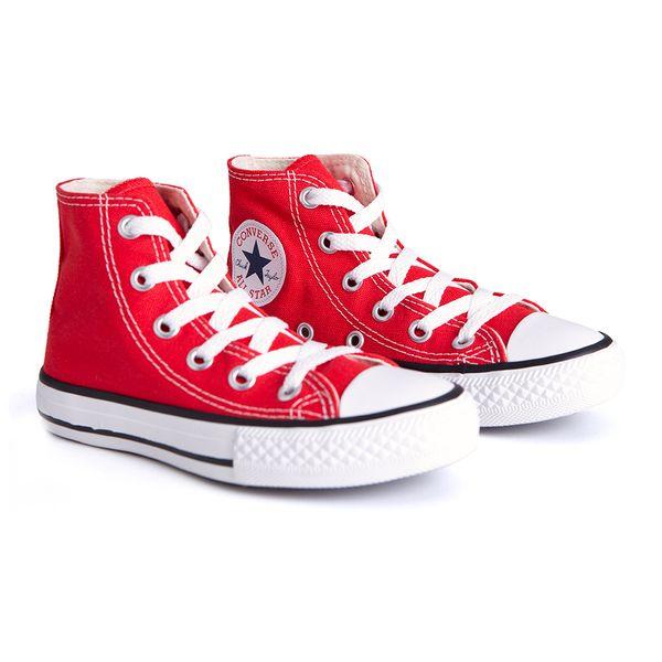 Tênis Infantil Converse All Star Cano Alto Vermelho (18 ao 25)