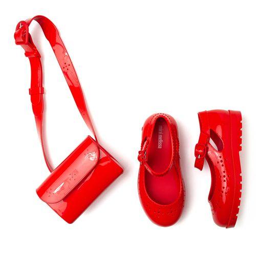 sapatilha-infantil-mini-melissa-vermelha-pochete