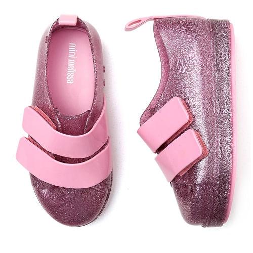 tenis-infantil-mini-melissa-sneaker-go-rosa