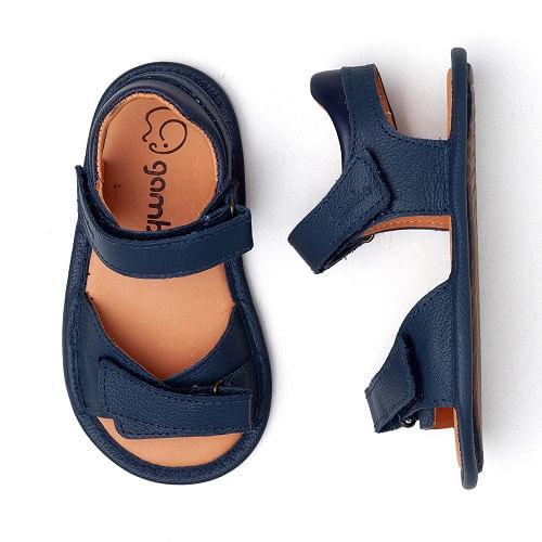 sandalia-infantil-gambo-baby-azul-marinho-velcro