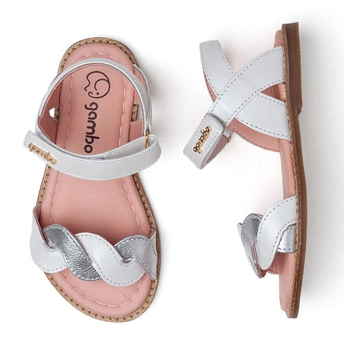 sandalia-infantil-gambo-trancas-branca-e-prata