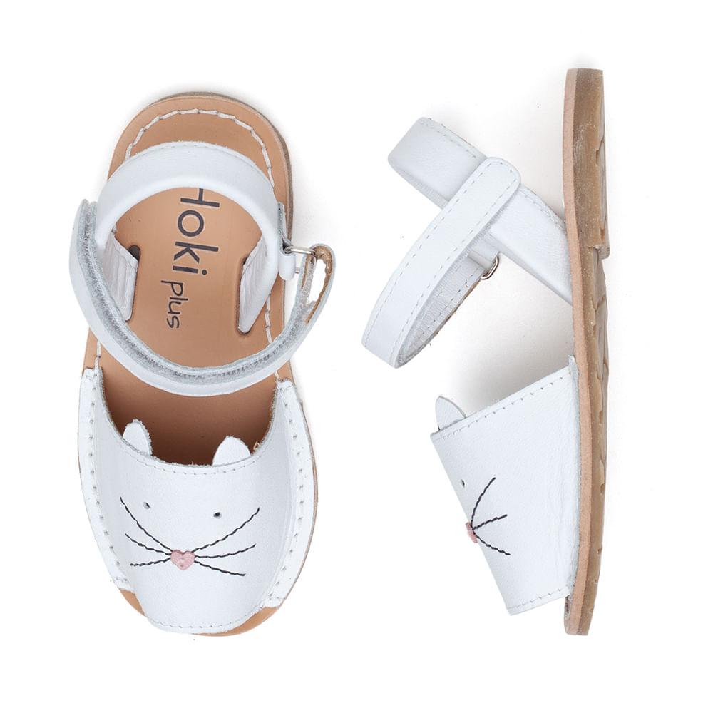 sandalia-infantil-avarca-kids-gatinho-branca