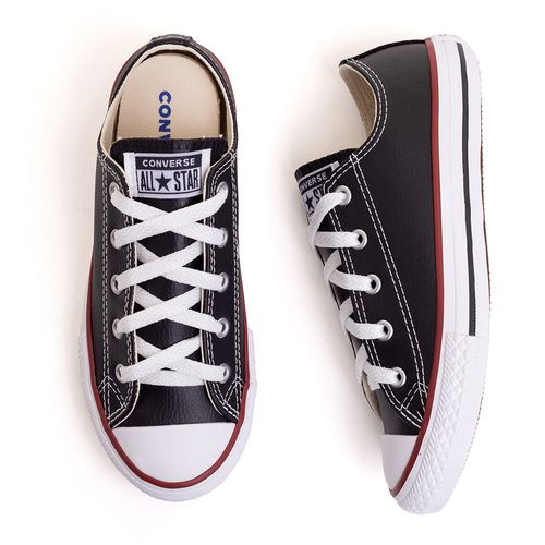 tenis-infantil-converse-all-star-chuck-taylor-couro-preto