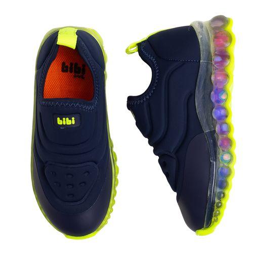 tenis-infantil-bibi-roller-celebration-azul-marinho-e-amarelo