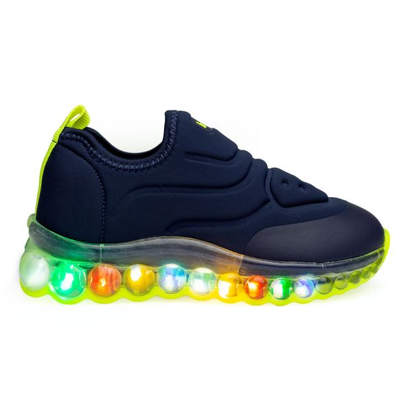 tenis-infantil-bibi-roller-celebration-amarelo-com-luz