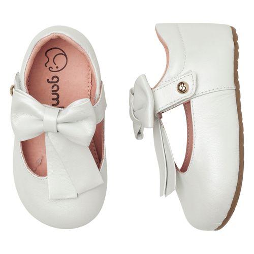 Sapatilha-Infantil-Gambo-Baby-Laco-Glitter-Branco