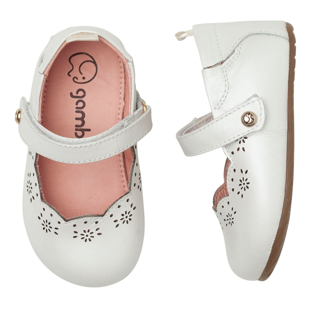 Sapatilha-Infantil-Gambo-Baby-Renda-Glitter-Branco-