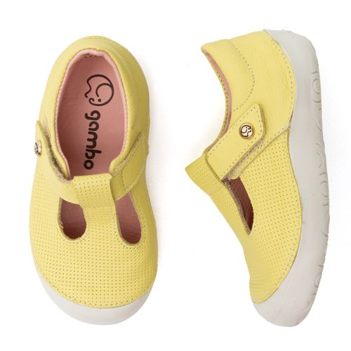 Sapatilha-Infantil-Gambo-Baby-New-Steps-Salome-Pistache