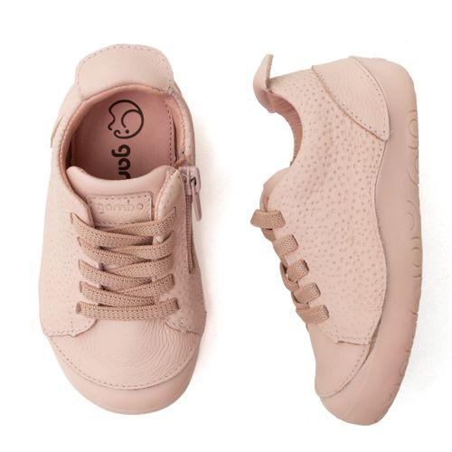 Tenis-Infantil-Gambo-Baby-New-Steps-Rosa-Blush