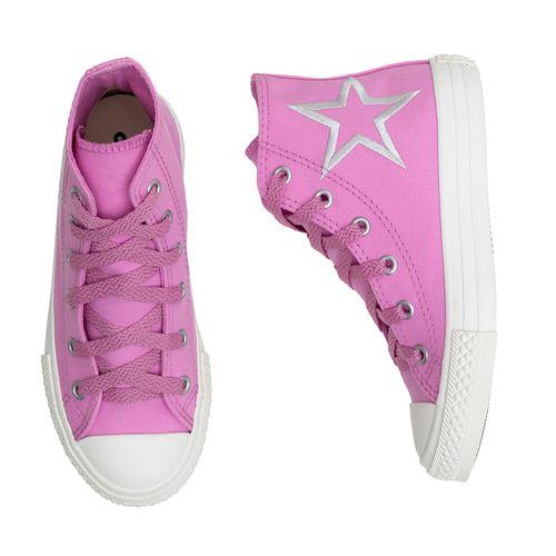 tenis-infantil-converse-all-star-cano-alto-rosa-estrela