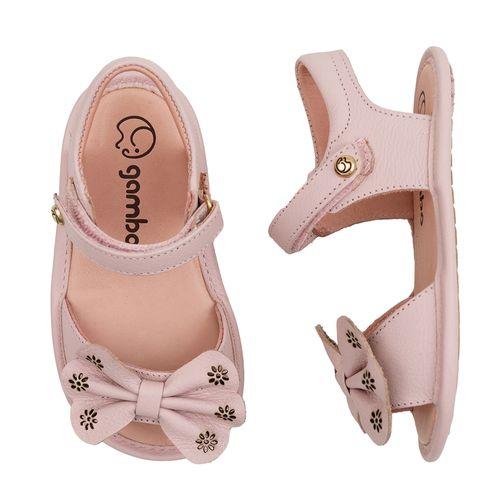 Sandalia-Infantil-Gambo-Baby-Laco-Rosa-Danone