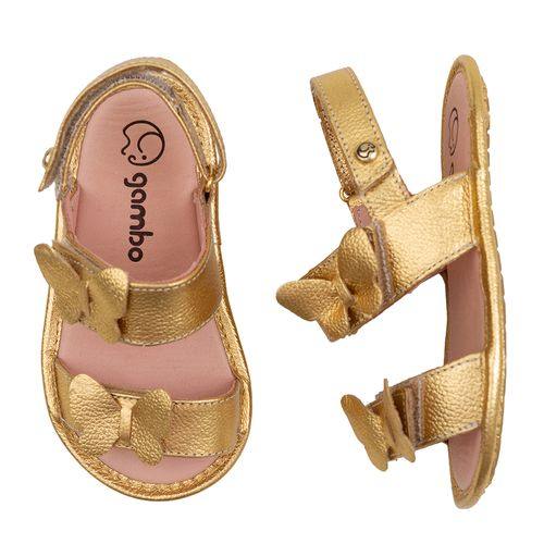 Sandalia-Infantil-Gambo-Baby-Napa-Borboleta-Dourada