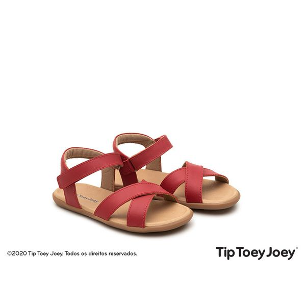 Sandalia-Tip-Toey-Joey-Little-Grip-Vermelha