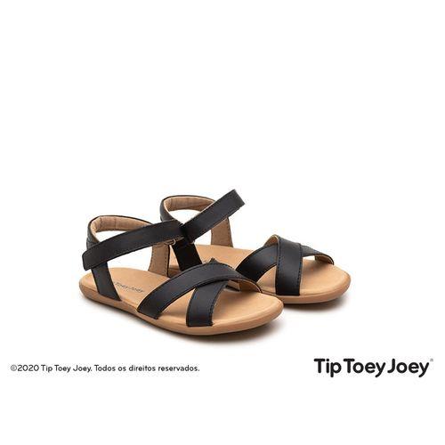 Sandalia-Tip-Toey-Joey-Little-Grip-Preta
