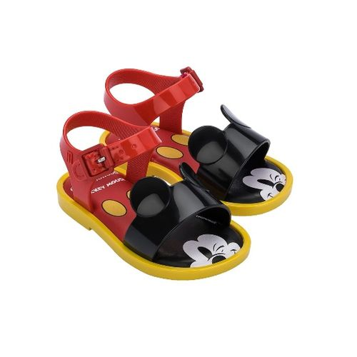 Sandalia-Mini-Melissa-Mar-Sandal---Mickey-and-Friends-Vermelha