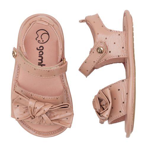 sandalia-infantil-gambo-baby-rosa-pontinhos