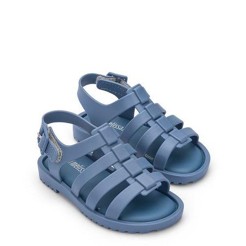 Sandalia-Mini-Melissa-Flox-Azul-Opaco