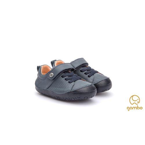 Tenis-Infantil-Gambo-Baby-New-Steps-Azul-Nautico