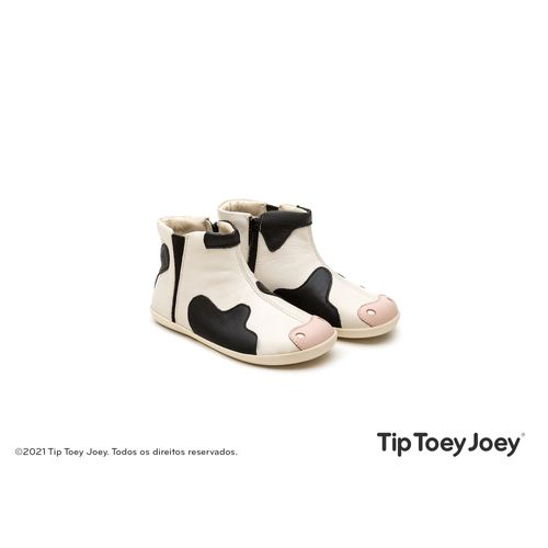 Bota-Tip-Toey-Joey-Little-Moo-Bege-e-Preta