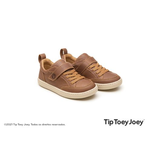 Tenis-Tip-Toey-Joey-Little-Urban-Marrom