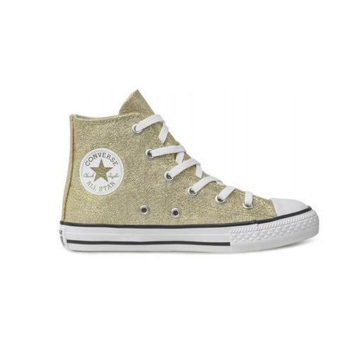 Tenis-Infantil-Converse-All-Star-Cano-Alto-Ouro-