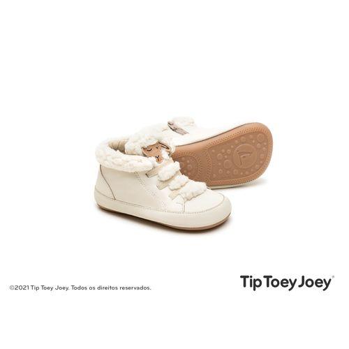 Bota-Tip-Toey-Joey-Sheepy-Bege-Claro
